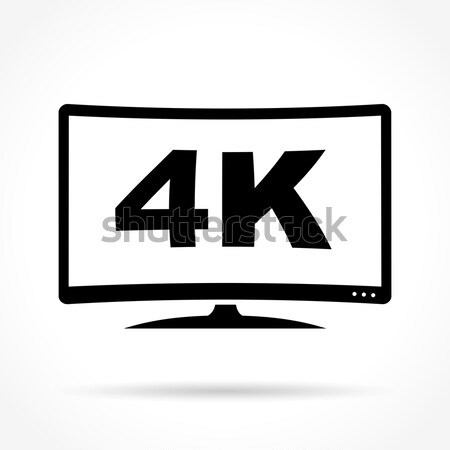 television icon design Stock photo © nickylarson974