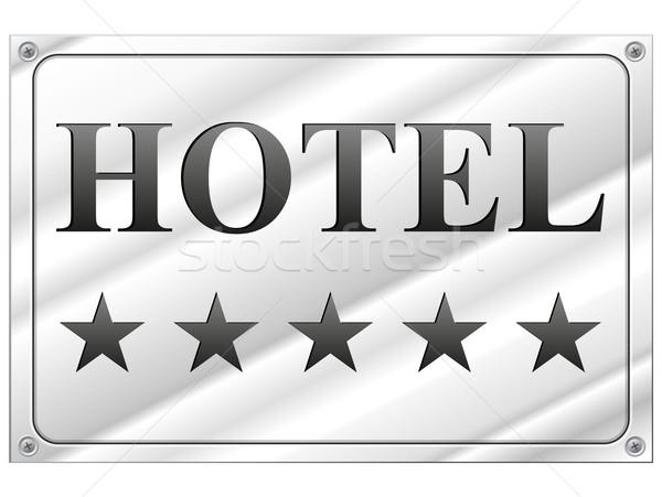 hotel five stars Stock photo © nickylarson974