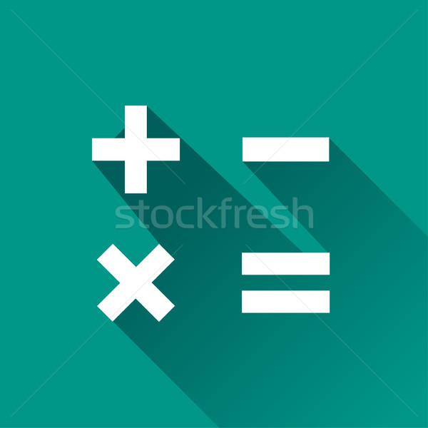 数学 アイコン デザイン 実例 影 コンピュータ ストックフォト © nickylarson974