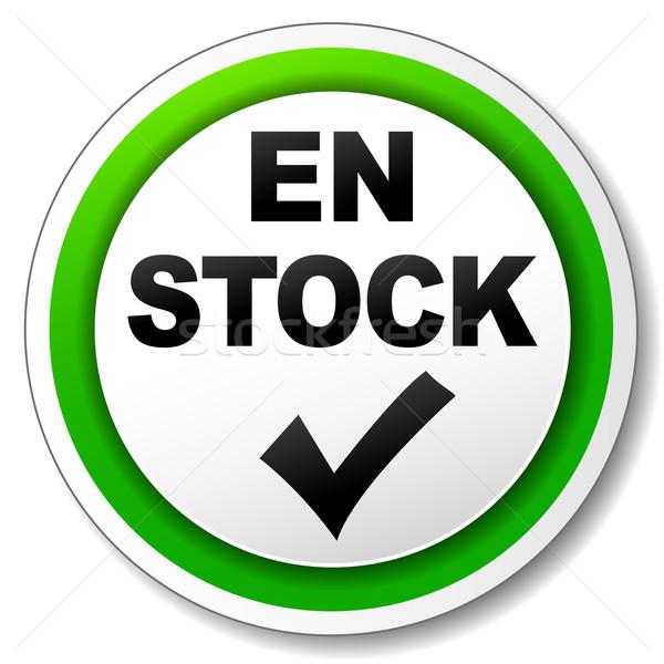 Vector available icon Stock photo © nickylarson974