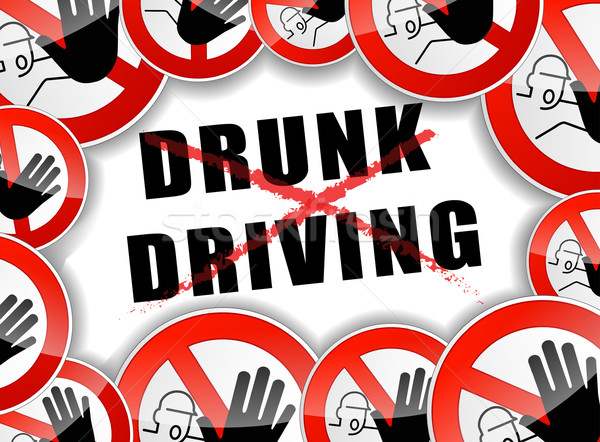 no drunk driving Stock photo © nickylarson974