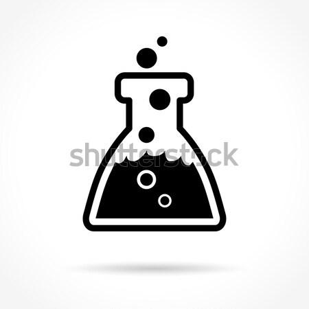 chemistry design icon Stock photo © nickylarson974