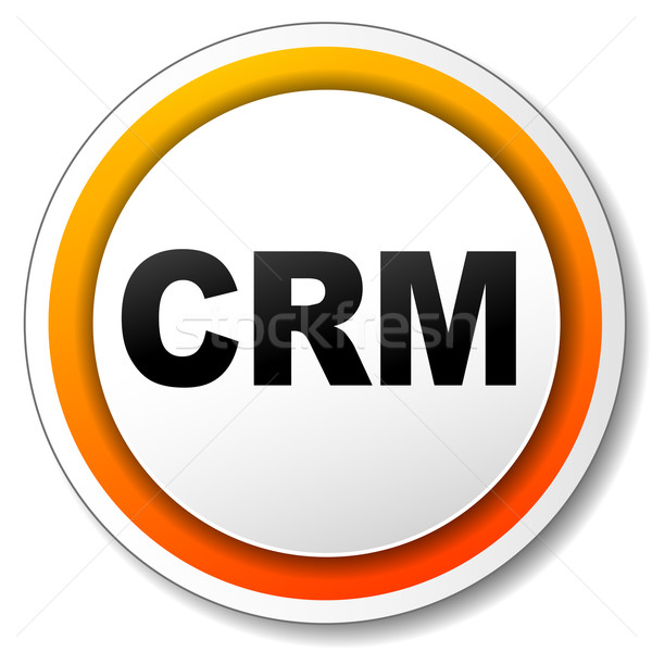 crm icon Stock photo © nickylarson974