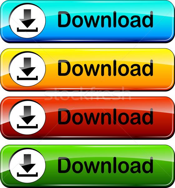 download push buttons Stock photo © nickylarson974