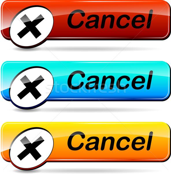 cancel buttons Stock photo © nickylarson974