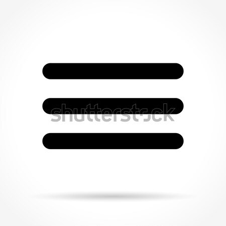 expand icon on white background Stock photo © nickylarson974