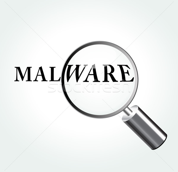 Vector malware concept illustration Stock photo © nickylarson974