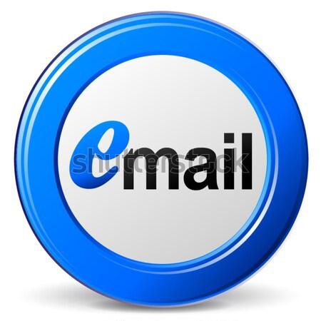 E-mail ikon örnek 3D yeşil dizayn Stok fotoğraf © nickylarson974