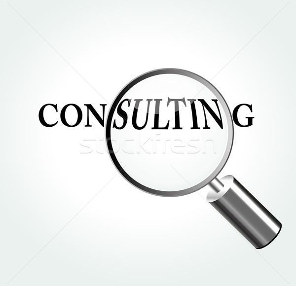 Vector consulting concept illustration Stock photo © nickylarson974
