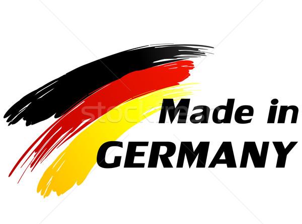Made in germany Stock photo © nickylarson974