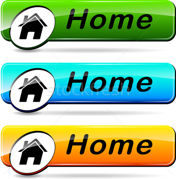 home buttons Stock photo © nickylarson974