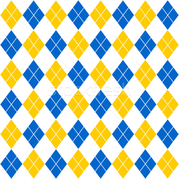 blue and yellow diamonds background Stock photo © nickylarson974