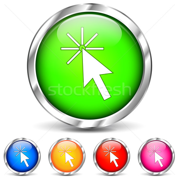 Vector pointer icons Stock photo © nickylarson974