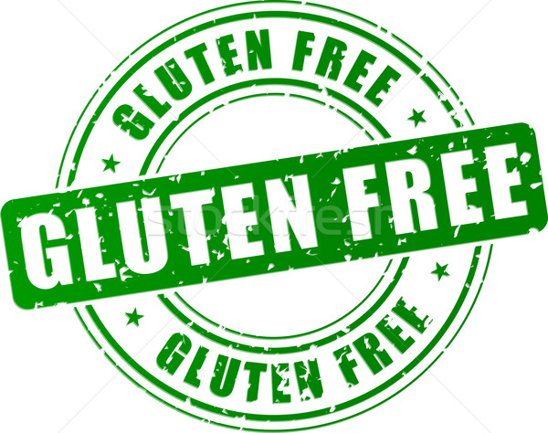 Vector gluten free stamp Stock photo © nickylarson974