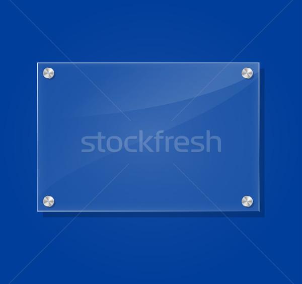 Vector transparent frame Stock photo © nickylarson974