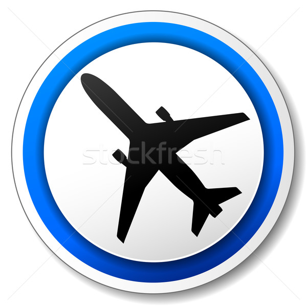 Vector airport icon Stock photo © nickylarson974