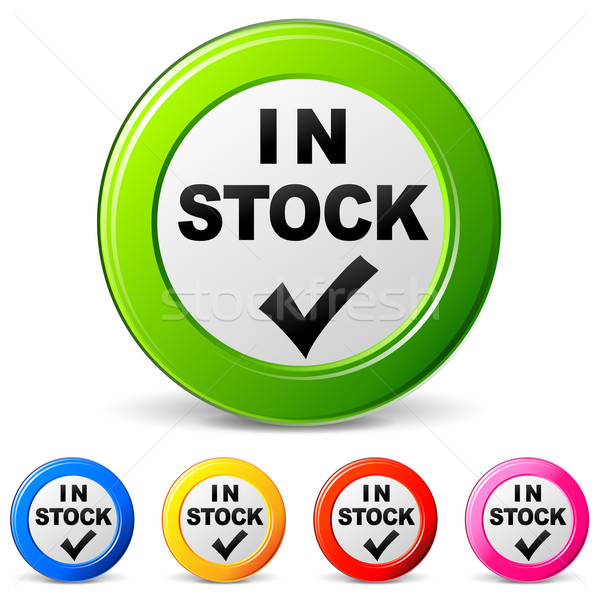 In stock icons Stock photo © nickylarson974