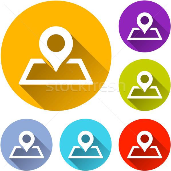 placeholder icons Stock photo © nickylarson974