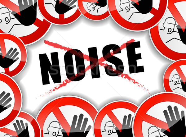 no noise abstract concept Stock photo © nickylarson974