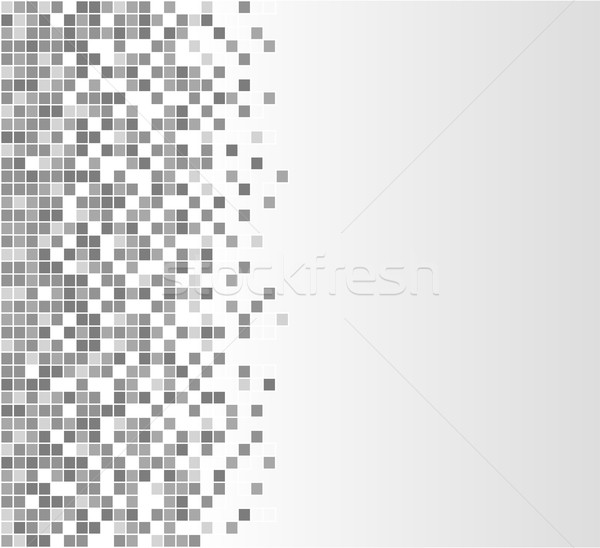 Grigio illustrazione abstract design bianco pattern Foto d'archivio © nickylarson974