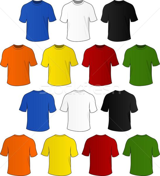 Stock photo: Vector t-shirts