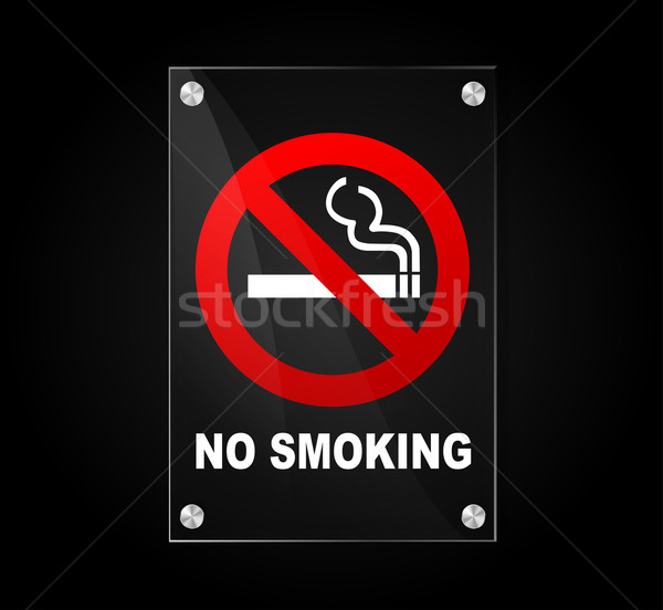 no smoking sign Stock photo © nickylarson974