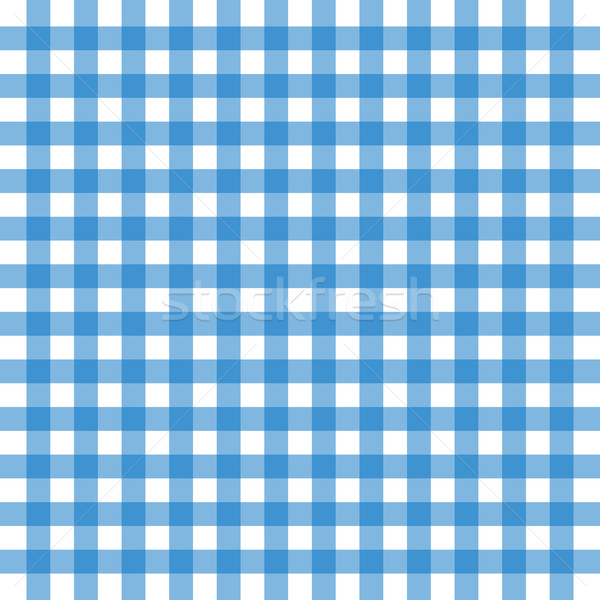Blue tablecloth background Stock photo © nickylarson974
