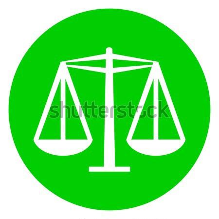 green scales icon Stock photo © nickylarson974