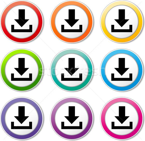 download icons Stock photo © nickylarson974