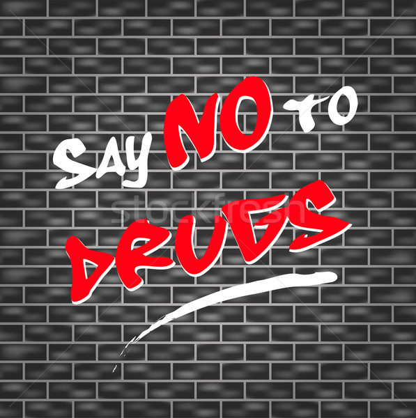 say no to drugs Stock photo © nickylarson974