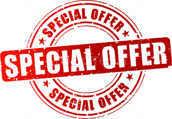 Vector special offer stamp Stock photo © nickylarson974
