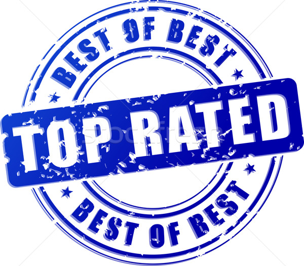top rated blue stamp Stock photo © nickylarson974