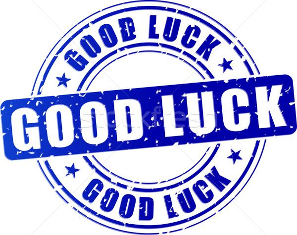 good luck icon Stock photo © nickylarson974