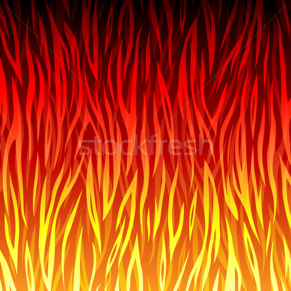 Vector fire background Stock photo © nickylarson974