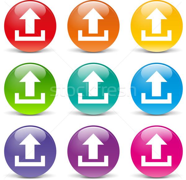 upload icons Stock photo © nickylarson974