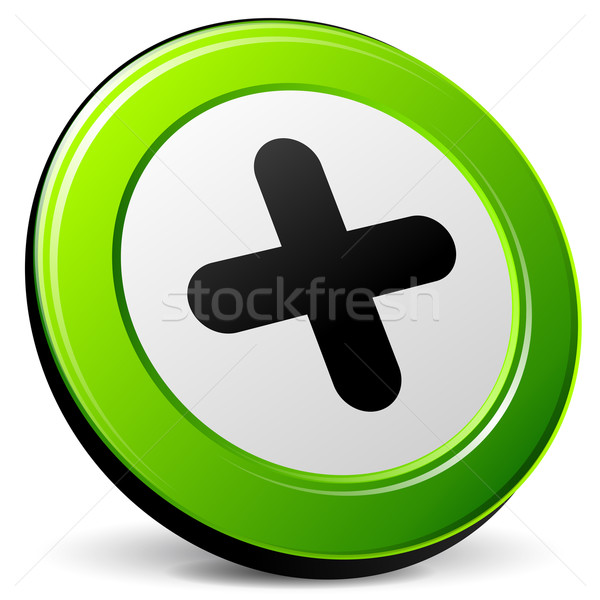add 3d icon Stock photo © nickylarson974