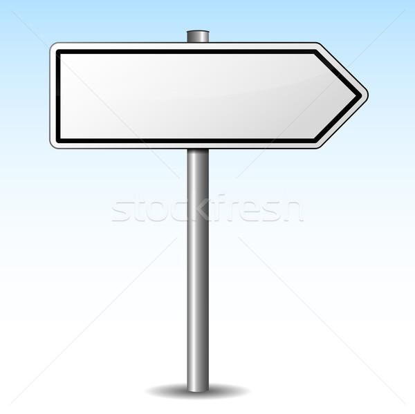 Vector directional sign Stock photo © nickylarson974