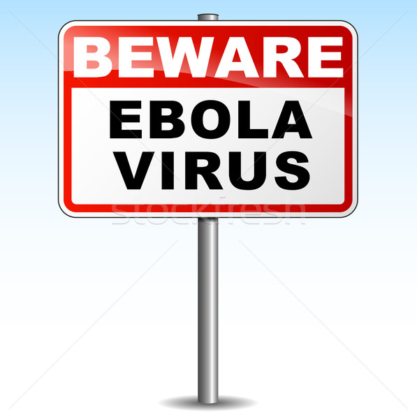 Ebola virus signpost Stock photo © nickylarson974