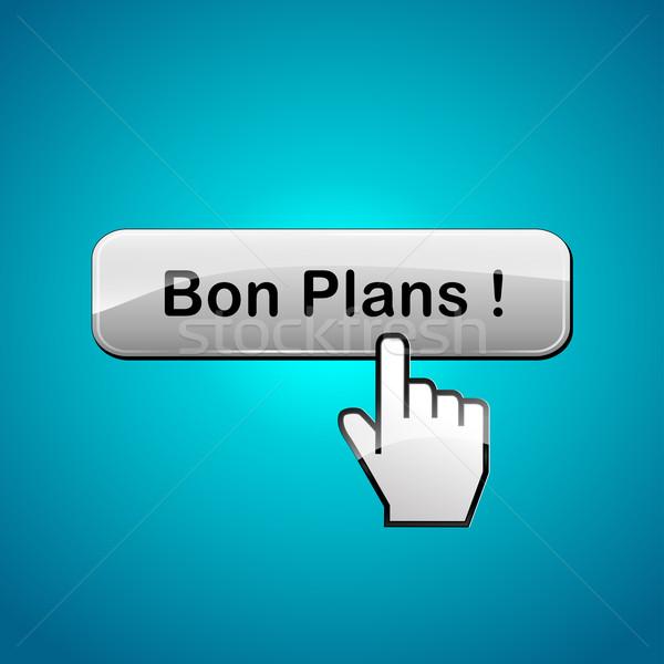 良い webボタン フランス語 翻訳 ビジネス 抽象的な ストックフォト © nickylarson974