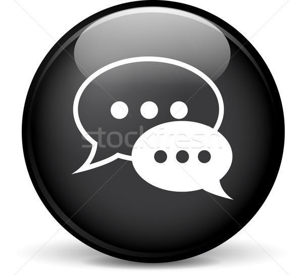 Stockfoto: Bubbels · icon · illustratie · moderne · ontwerp