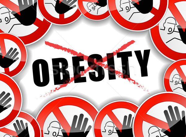 no obesity Stock photo © nickylarson974