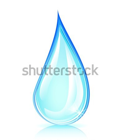 water drop concept Stock photo © nickylarson974