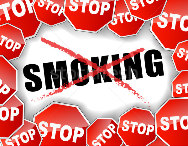 Stop smoking Stock photo © nickylarson974