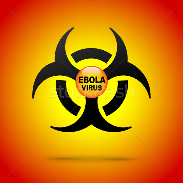 Vector ebola virus illustration Stock photo © nickylarson974