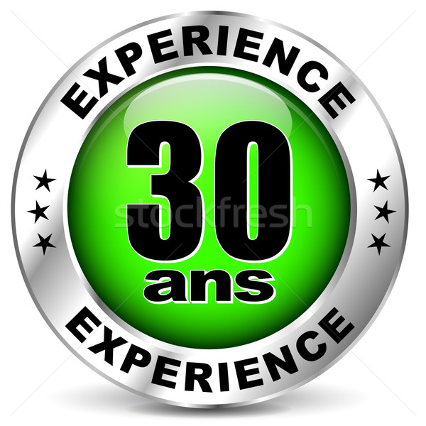 thirty years experience icon Stock photo © nickylarson974