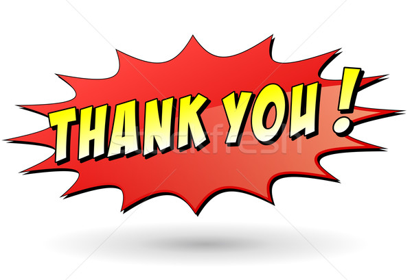 thank you star icon Stock photo © nickylarson974