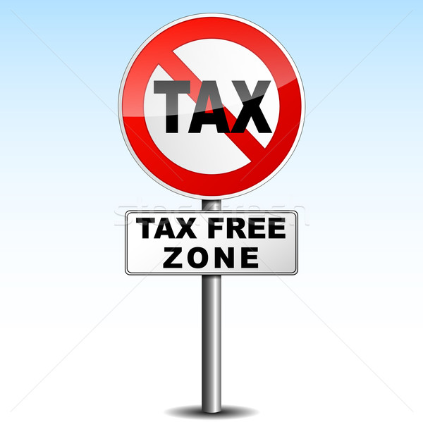 tax free zone Stock photo © nickylarson974