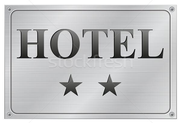 hotel two stars Stock photo © nickylarson974