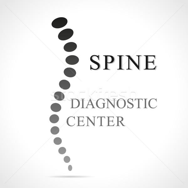 spine abstract shape Stock photo © nickylarson974