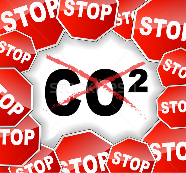 Stop carbon dioxide Stock photo © nickylarson974
